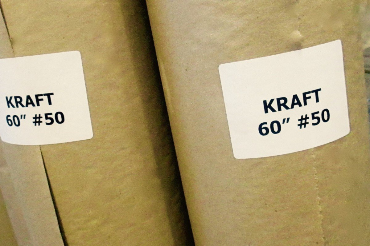 recycled kraft roll sizes