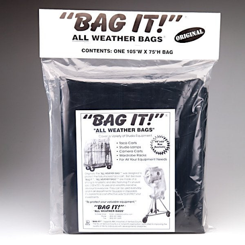Bag It! Protection Bags - Large Black